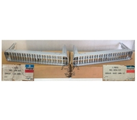 1978-79 Cordoba Lower Left & Right Grille's in Front Bumper, Pair-NOS
